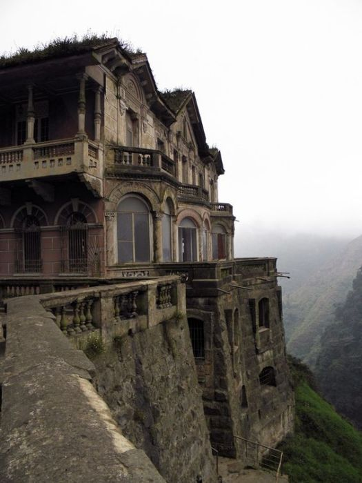 El hotel abandonado del salto en colombia asusta2 for Hotels all over the world