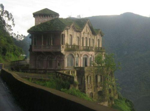 El hotel abandonado del Salto Colombia