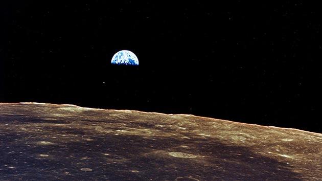 El Planeta Tierra visto desde la Luna