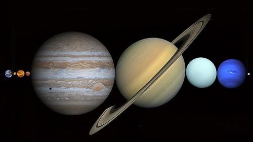 Entre la Tierra y la Luna cabrían todos los demás planetas del Sistema Solar