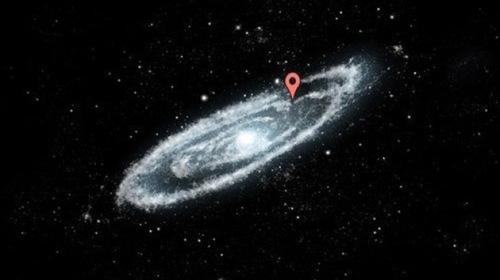 Nuestra posición en la Vía Láctea