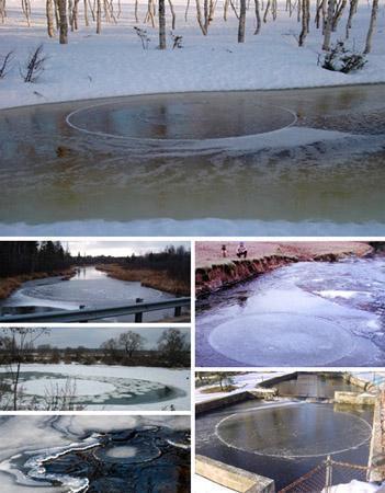 circulos de hielo