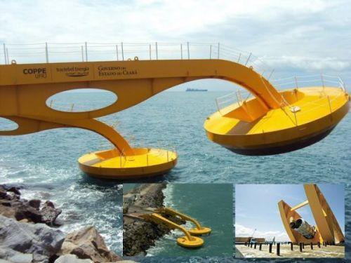 Energia electrica de las olas del mar