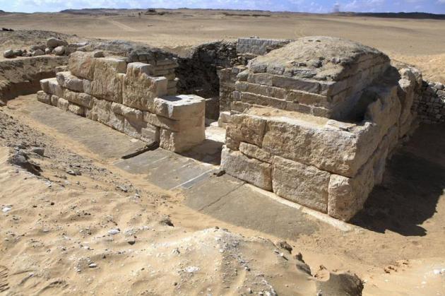 Nueva Faraona del antiguo Egipto