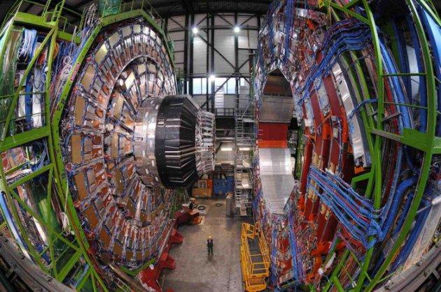 Detector ATLAS en el LHC Cern