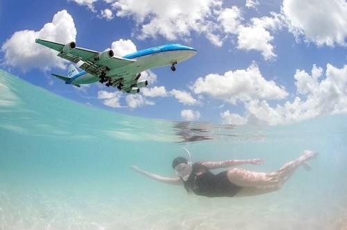 nadando con aviones 1