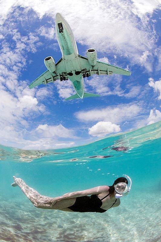 nadando con aviones 3