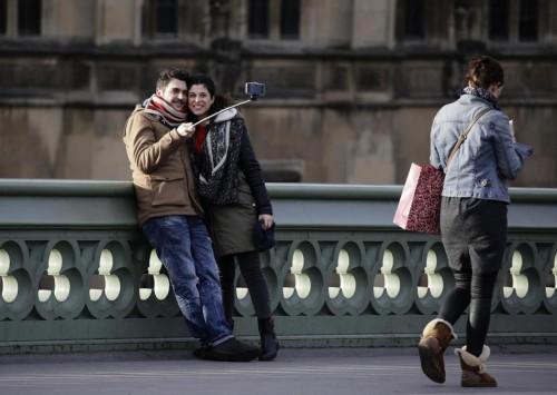 Selfie en Londres