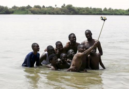 Selfies en Sudan
