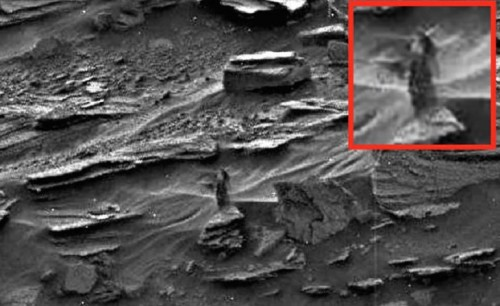 mujer en Marte