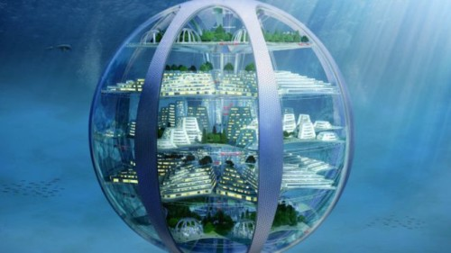 Ciudades submarinas y rascacielos subterráneos