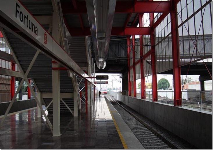 Estacion Fortuna DF Mexico