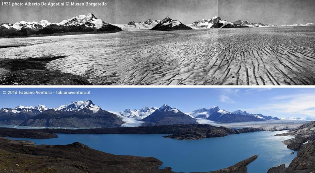 Preocupante retroceso de los Glaciares