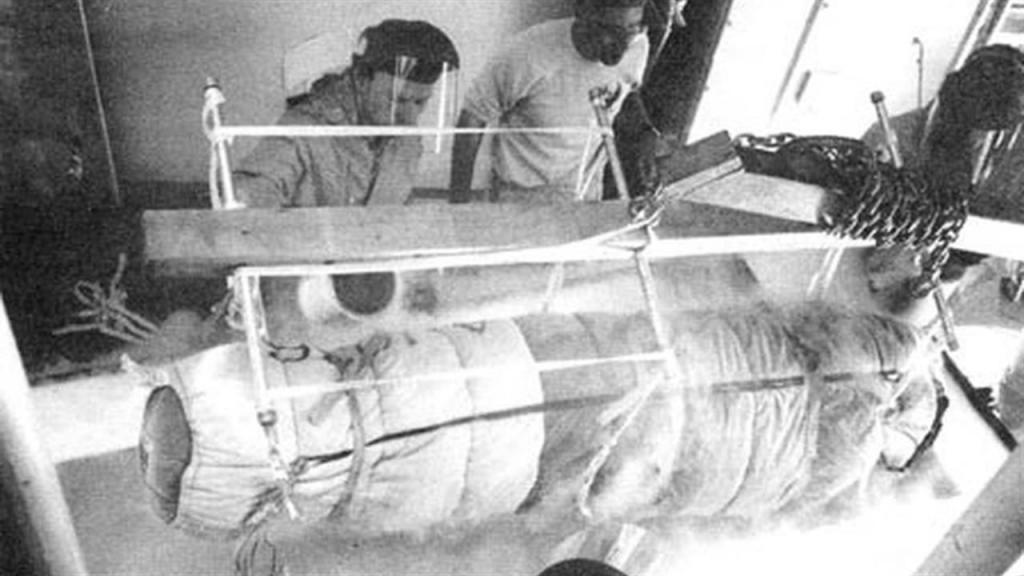 El primer hombre criogenizado