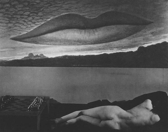 'Les amoureux' de Man Ray.