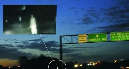 fantasma en autopista Rosario Santa Fe